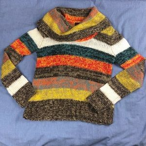 Ultra flirt fall multicolor sweater size medium